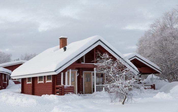 Holiday Village Inari, lakeside cabin